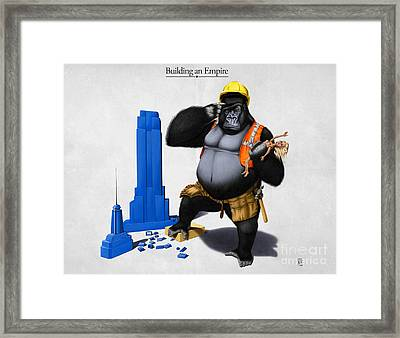 Building An Empire Framed Print