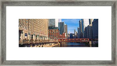 Building At The Waterfront, Merchandise Framed Print
