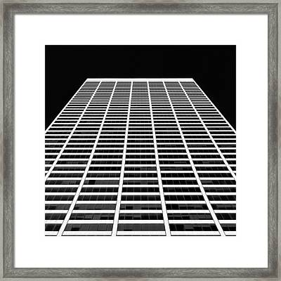Building Blocks Framed Print by Dave Bowman