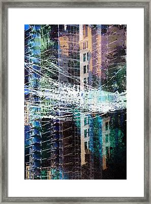 Building Boom Framed Print by John Fish