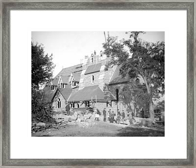 Building Church Framed Print