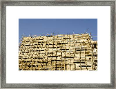 Building Construction Framed Print by Image World