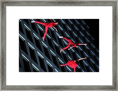 Building Dancers  Framed Print