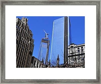 Building Freedom Framed Print by Sarah Loft
