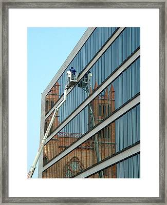 Building New Framed Print by Marc Philippe Joly