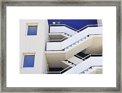 Building Staircase Framed Print