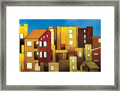 Buildings Framed Print by Ahmed Amir