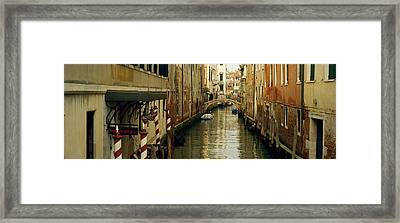 Buildings Along A Canal, Rio Dei Greci Framed Print by Panoramic Images