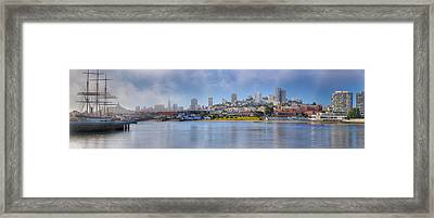 Buildings At The Waterfront, Fishermans Framed Print by Panoramic Images