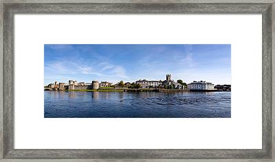 Buildings At The Waterfront, King Johns Framed Print