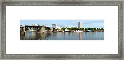 Buildings At The Waterfront, Morrison Framed Print by Panoramic Images