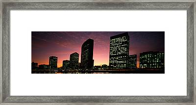 Buildings At The Waterfront, Oakland Framed Print by Panoramic Images