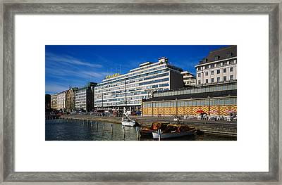 Buildings At The Waterfront, Palace Framed Print by Panoramic Images
