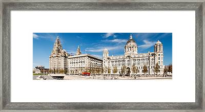 Buildings At The Waterfront, Royal Framed Print by Panoramic Images
