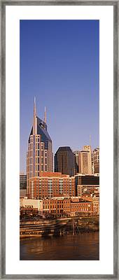 Buildings In A City, Bellsouth Framed Print by Panoramic Images