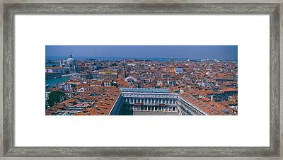 Buildings In A City, Florence, Tuscany Framed Print