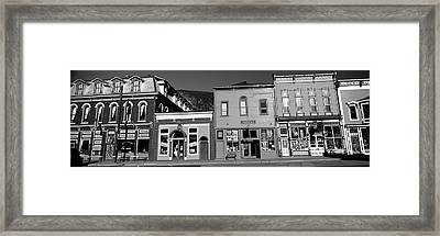 Buildings In A Town, Old Mining Town Framed Print by Panoramic Images