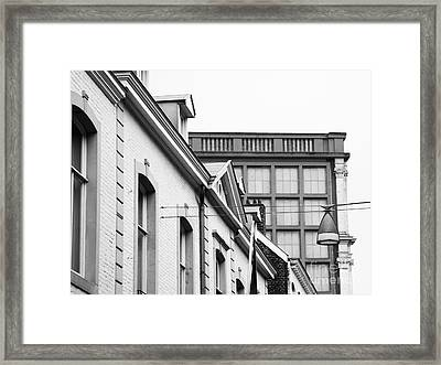 Framed Print featuring the photograph Buildings In Maastricht by Nick  Biemans