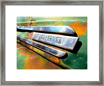 Built Ford Tough Framed Print