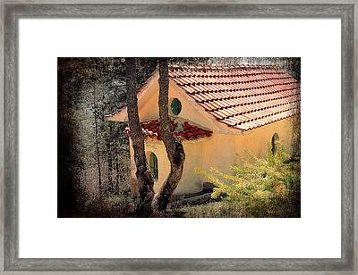 Built In A Forest Framed Print