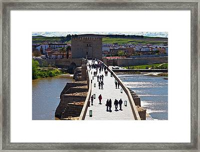 Built In The Early 1st Century Bc Framed Print