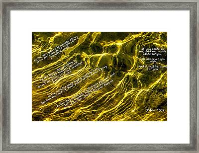 Built On Prayer Framed Print by David  Norman