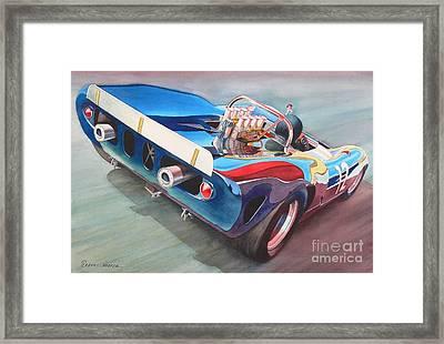 Built To Race Framed Print by Robert Hooper