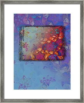 Bukhara Glow Framed Print