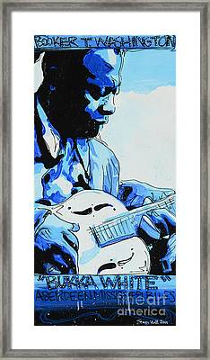 Bukka White Framed Print by Jenny Hall