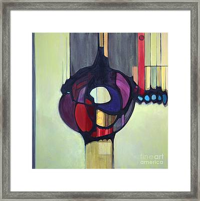 Bulbosity Framed Print by Marlene Burns