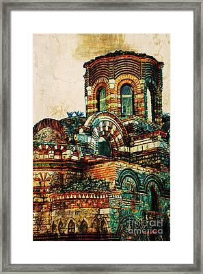 Bulgaria - Nessebar Framed Print by Donika Nikova