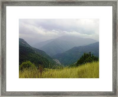 Bulgaria  Rodope Mountain Framed Print