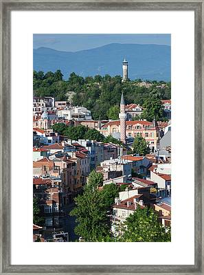 Bulgaria, Southern Mountains, Plovdiv Framed Print