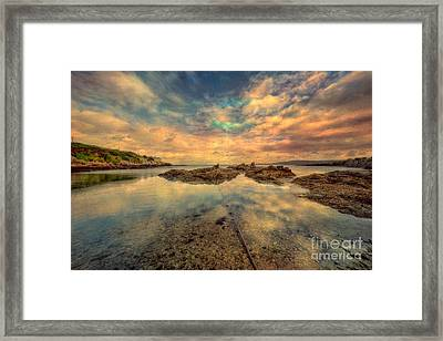 Bull Bay Framed Print by Adrian Evans