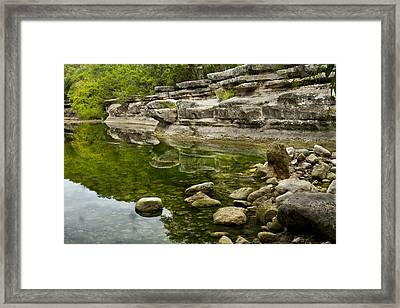 Bull Creek Framed Print by Mark Weaver