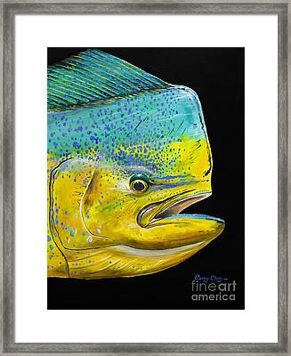 Bull Head Off0033 Framed Print by Carey Chen