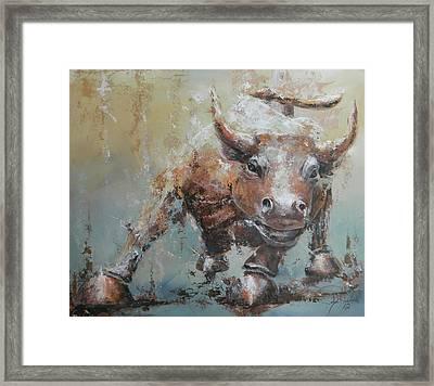 Bull Market Y Framed Print