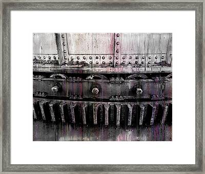 Bull Ring Gear Framed Print