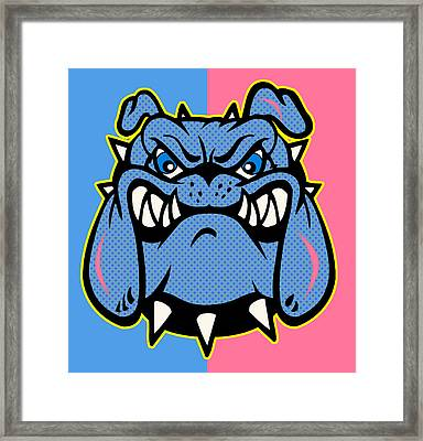 Bulldog 5 Framed Print by Mark Ashkenazi