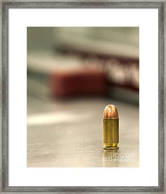 Bullet Art 2 Framed Print by Artist and Photographer Laura Wrede