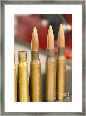 Bullet Art Framed Print by Artist and Photographer Laura Wrede