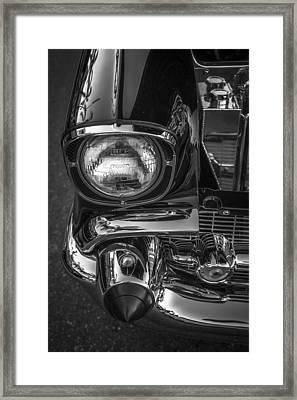 Bullet Bumper Framed Print by Peter Tellone