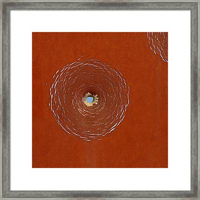 Bullet Hole Patterns Framed Print by Art Block Collections