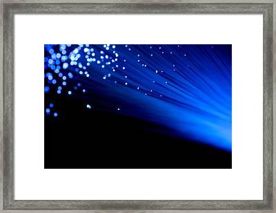 Bullet The Blue Sky Framed Print