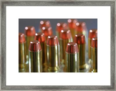 Bullets Framed Print by Dan Sproul