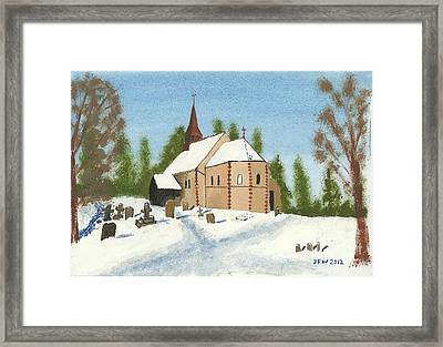 Bulley Church Framed Print