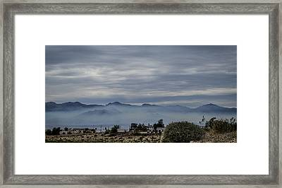 Bullhead Blues Framed Print