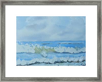 Bulli Beach Framed Print by Pamela  Meredith