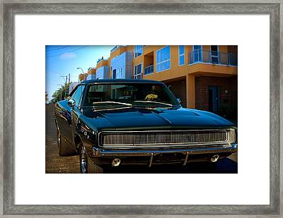Bullit Replica Charger Framed Print by Tim McCullough