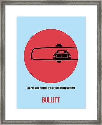 Bullitt Poster 1 Framed Print by Naxart Studio